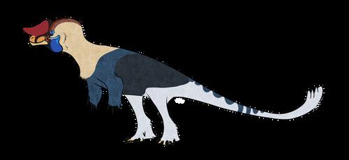 [Palaeoart] Dinovember: Sinotyrannus by MatthewOnArt