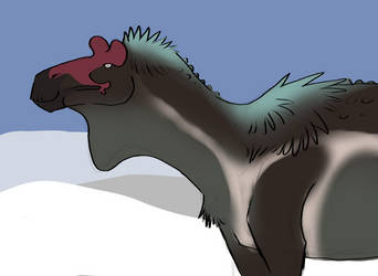 [Palaeoart] Dinovember: Ugrunaaluk by MatthewOnArt