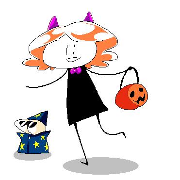 Happy Halloweenie by WorldTraveler128