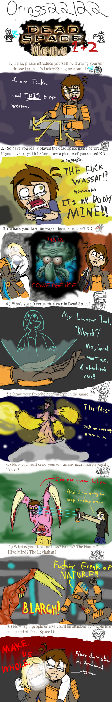 DEAD SPACE meme by Nintendoart