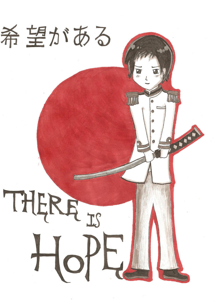 There.Is.Hope.4.Japan by 1CrazyVegetarian