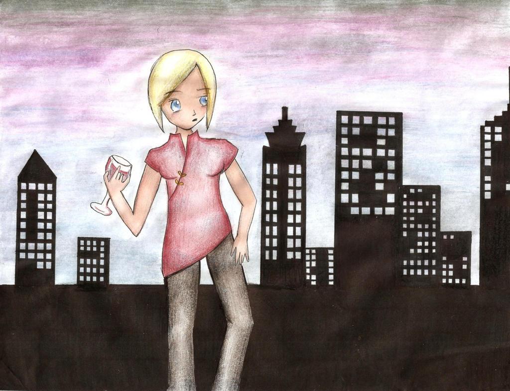 Cynthia Hynes- Head Gamemaker (an OC of mine...) by 1CrazyVegetarian