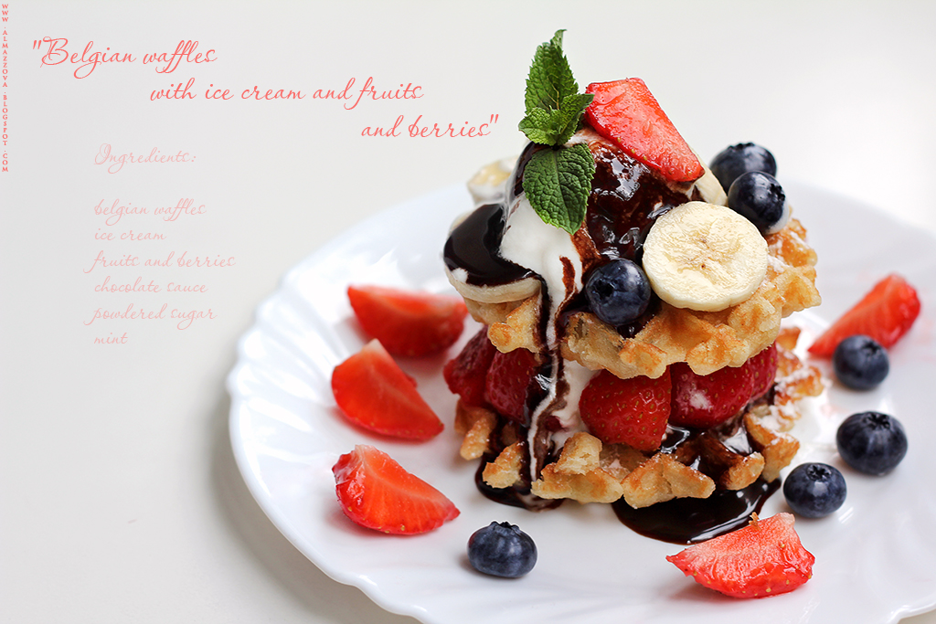 Belgian waffles by LilyBrilliant