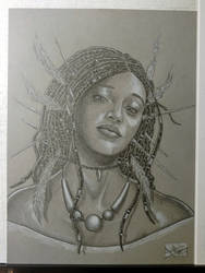 2017 Stranger Comics - NIOBE Pinup 1 of 3 Picture by arielaguire
