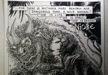 2017 Stranger Comics - NIOBE Pinup 2 Pic 12 of 13 by arielaguire