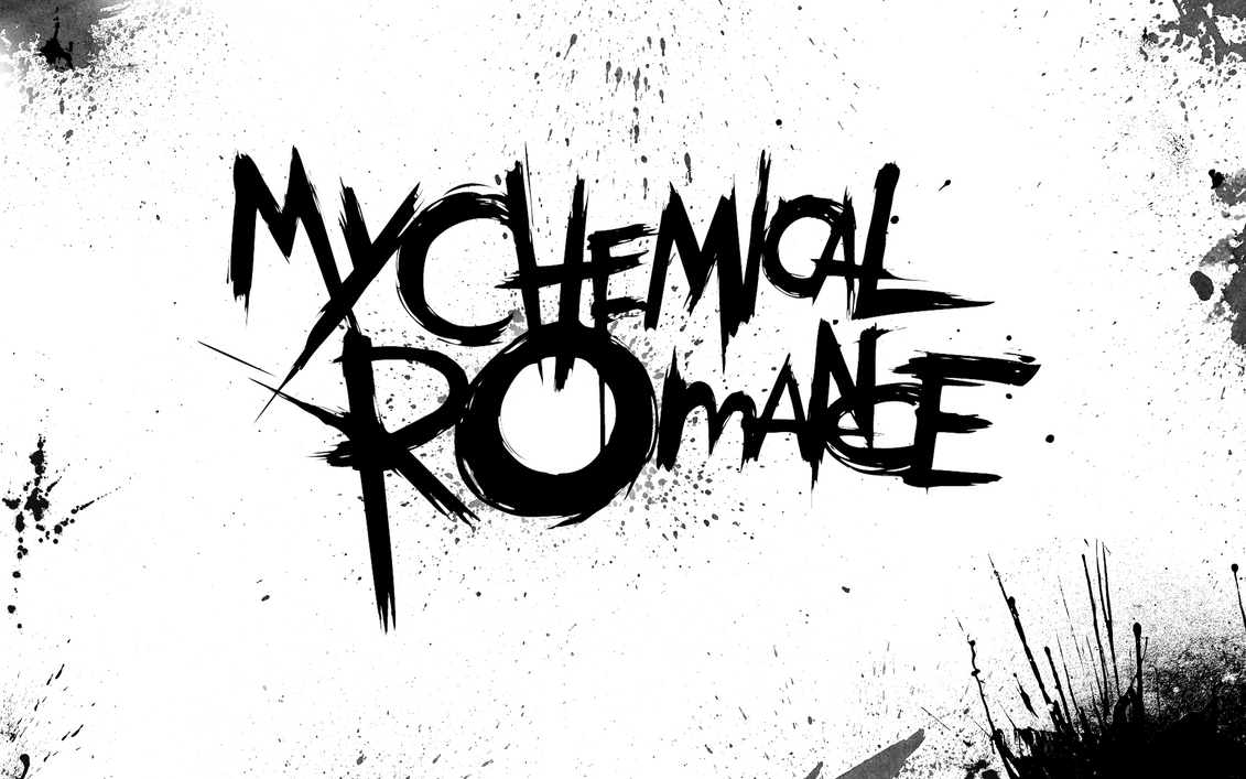 my chemical romance wallpaper blood white by kitkirkilkol