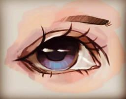Sketchy eye.(Practice)