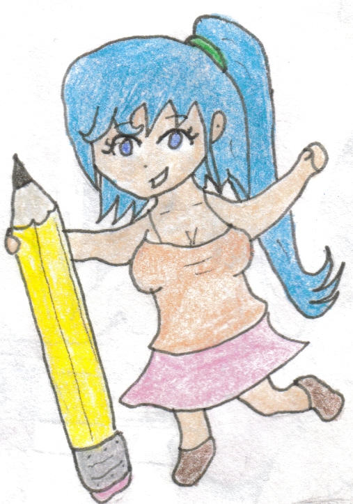 Chibi Ava wants to help!