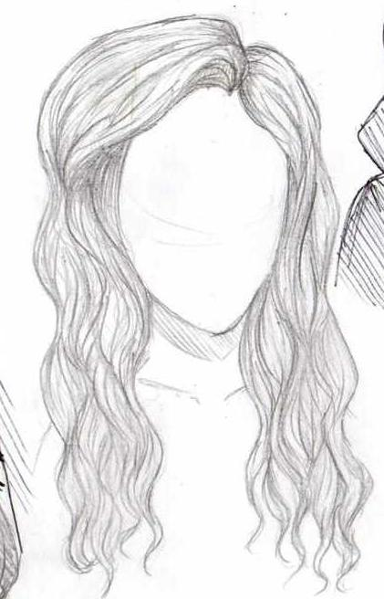 Just Hair And No Face By Wowmyfish On Deviantart