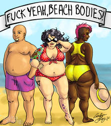 Fuck yeah, beach bodies! by Anlina
