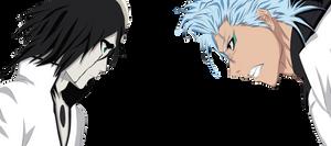 Ulquiorra and Grimmjow