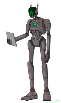 Imperial Security Droid BackSlash