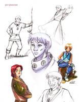 Micellaneous sketches by Sori-Chan