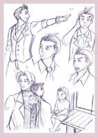 Gyakusai Sketches 2 by Sori-Chan