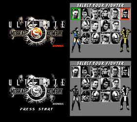 Ultimate MK3 8-bit demake