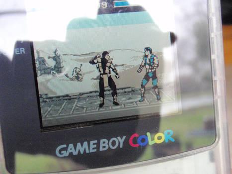 Ultimate MK3 8-bit demake Game Boy Color