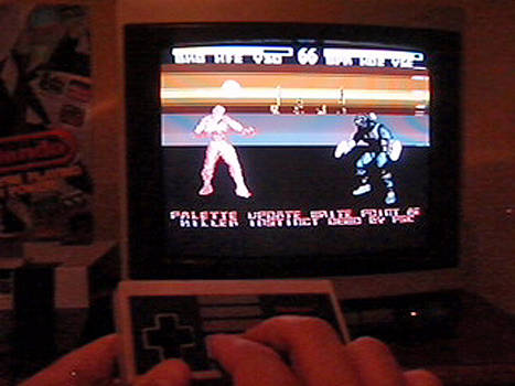 Killer Instinct NES tech demo