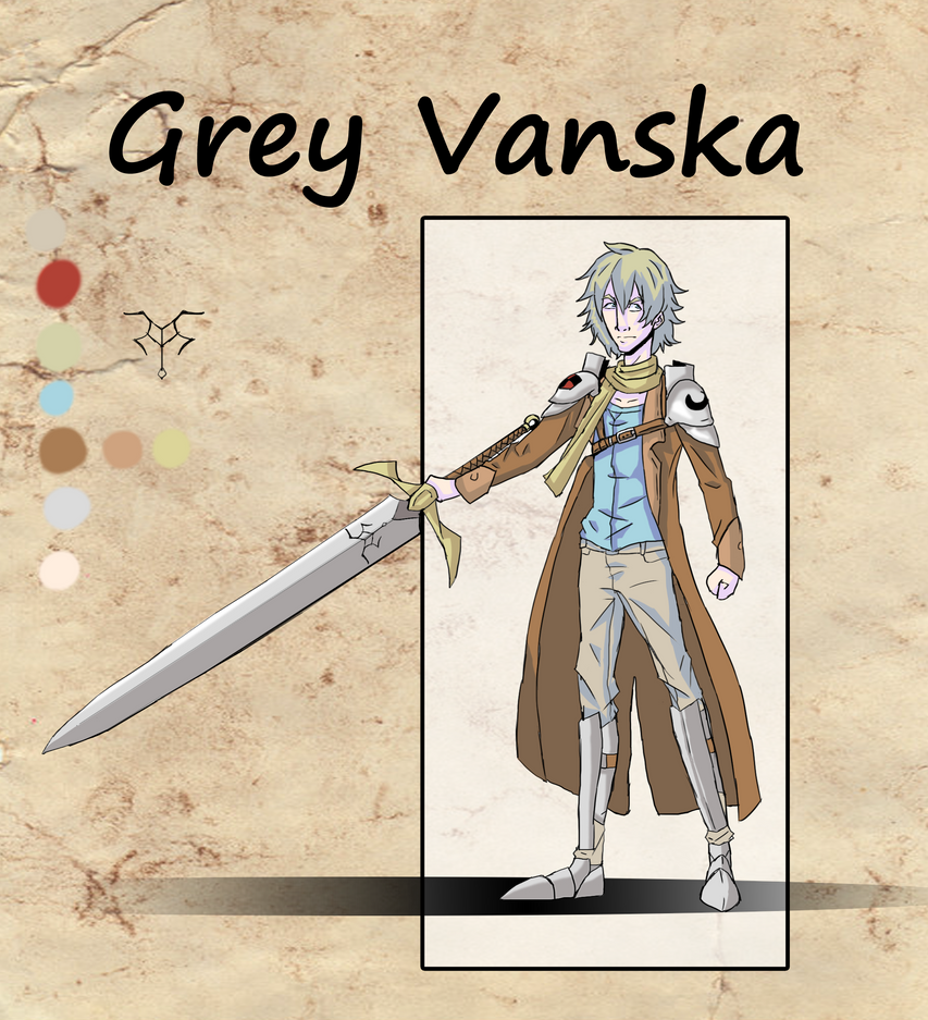 Grey Vanska Reference sheet n' junk by GreyVanska