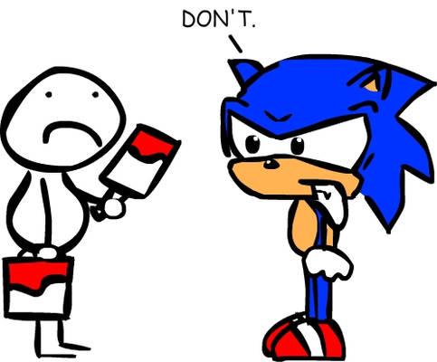 Sonic hates recolours.