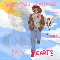 Will you release my heart? by 3XGalaxyPandaX3