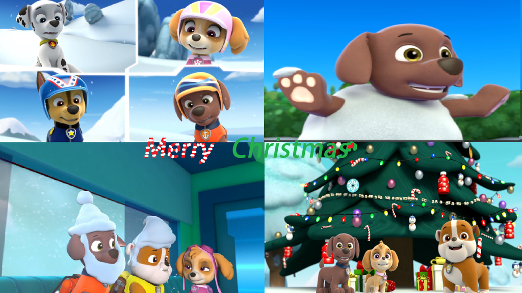 PAW Patrol Merry Christmas Poster By Sepperlover