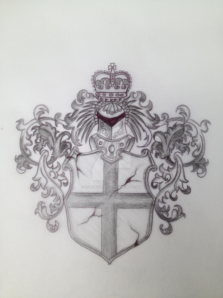 english coat of arms tattoo - photo #9