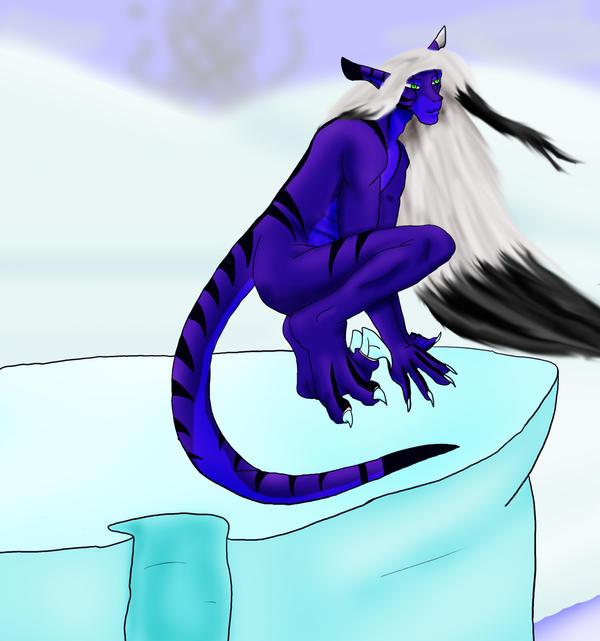 Seraph Asche, Glacyer Lord by LuciferDragon