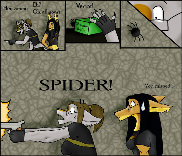 AA: SPIDER by LuciferDragon