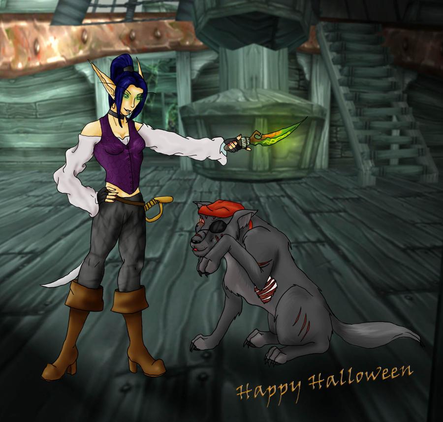 Happy Halloween by LuciferDragon