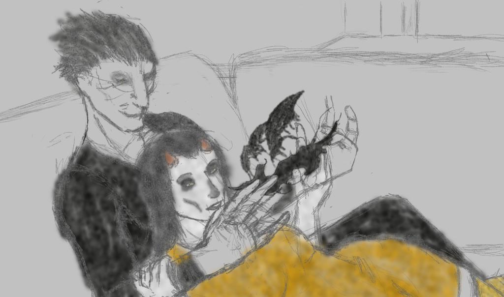 Galleon DIgital Sketch by LuciferDragon