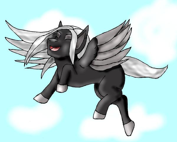 Pegasus Colt by LuciferDragon
