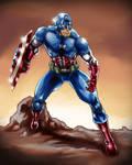 Captain America Marvel Now suit