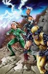 X-Men variant cover