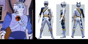 Silver Thunderian Ranger (1986 version)