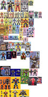 Zord Ranger Collage by AdrenalineRush1996