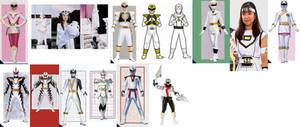 White Ranger Collage (2013 update)