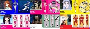 Super Sentai 11-20 Mashup (PR Redux)