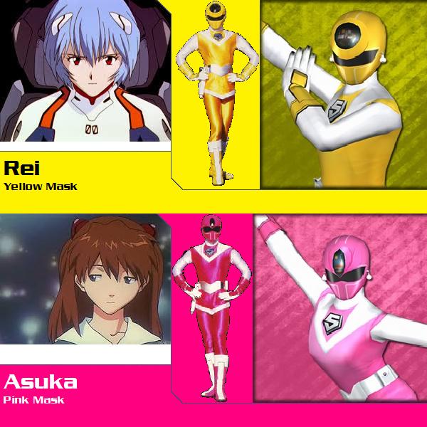 Neon Genesis Evangelion Female Maskman (PR Redux) by ...