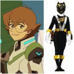 Katie Holt as Ranger Black (Toku Unlimited)
