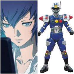 Naoto Shirogane as Blue Senturion (Toku Unlimited) by AdrenalineRush1996