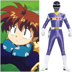 Shippo as Blue Space Ranger (Toku Unlimited) by AdrenalineRush1996