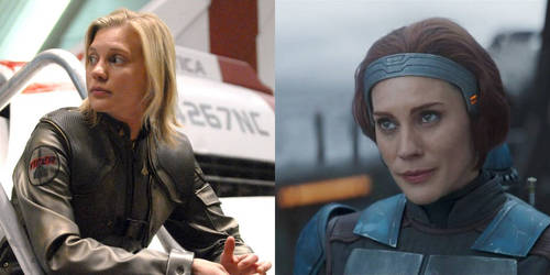 Two Roles from Katee Sackhoff