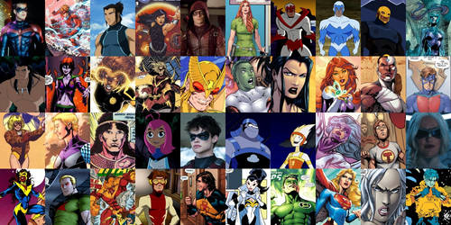 40 Members of the Teen Titans (1964-1996)