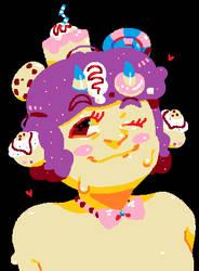 Sugar MS Paint Doodle (Commission)
