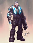 Sci-fi Game Character