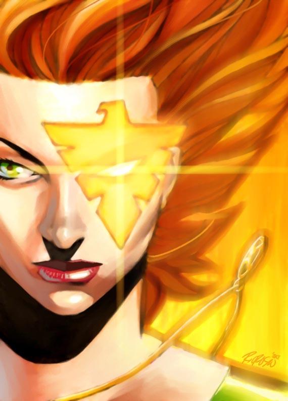Marvel Girl Rachel by ryanorosco