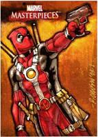 Deadpool MM08 AP Sketch Card by ryanorosco