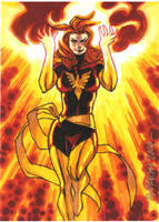 Just another Dark Phoenix... by ryanorosco