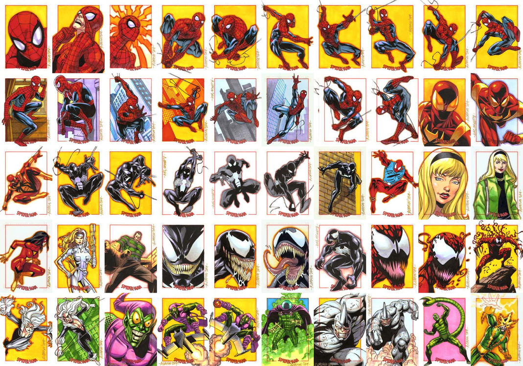 Spiderman Archives Set1 by ryanorosco