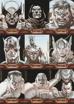 Iron Man2 Sketch Cards Part 2